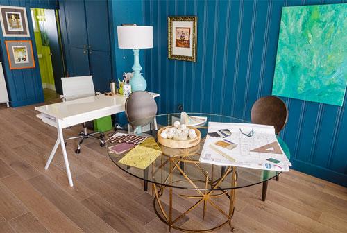 Blue Daze Designs studio meeting space